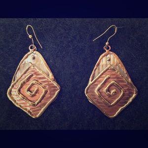 Jewelry - Multi metal earrings